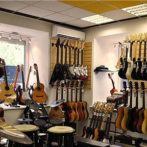 Музыкальные магазины Кошек